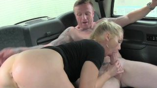 Female FakeTaxi – Mature chick takes a break